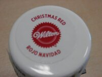 Wilton christmas red